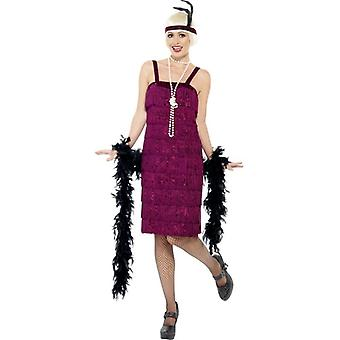 Jazz Flapper Costume, UK Dress 12-14