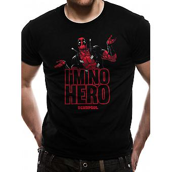 Deadpool-Im No Hero T-shirt