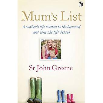 Mum's List by St John Greene - 9780718158330 Book