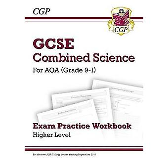 Nieuwe rang 9-1 GCSE gecombineerd Science - AQA examen oefenwerkmap - Hig