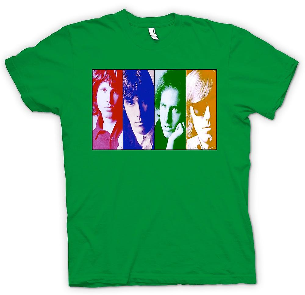Mens T-shirt - The Doors - Collage - Pop Art