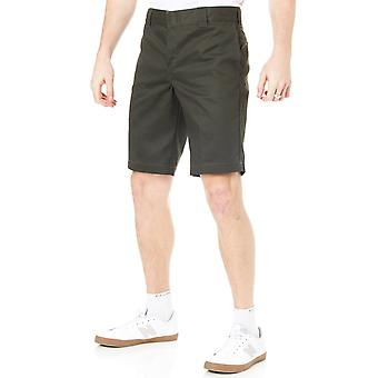 Dickies Olive Green Slim Straight - 11 Inch Workshorts