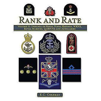 Insignia of Royal Naval Ratings, WRNS, Royal Marines, QARNNS and Auxiliaries Rank and Rate: v. II