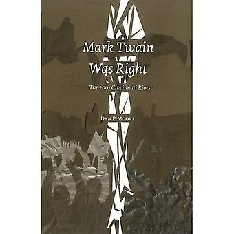 Mark Twain Was Right