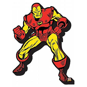 Iron Man chunky thick fridge magnet    (nm)