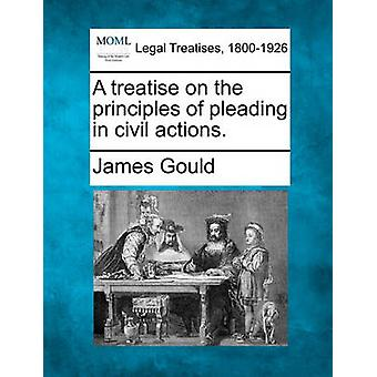 A treatise on the principles of pleading in civil actions. by Gould & James