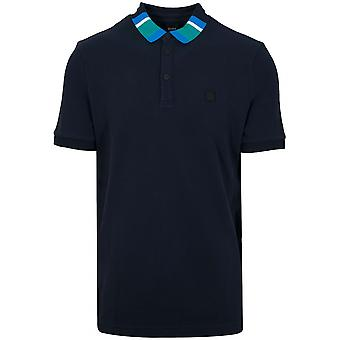 Boss BOSS Polarized Navy Polo Shirt