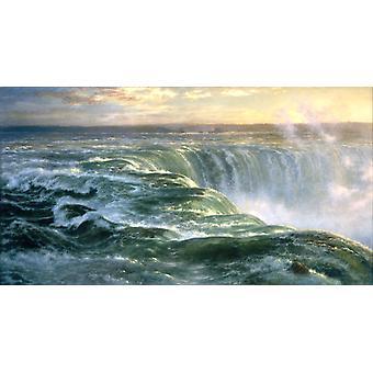 Niagara, Louis Remy Mignot, 80x43cm