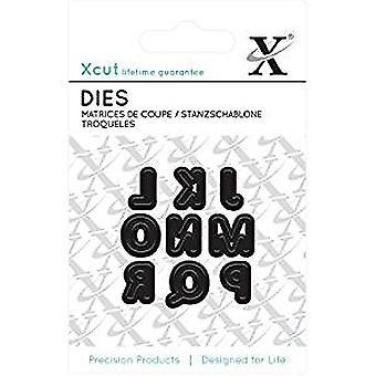 Xcut Mini Die - (9pcs) Alphas Part 2 (XCU 503626)