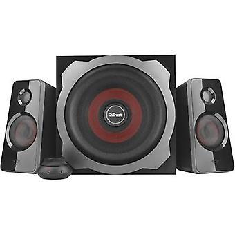 Vertrauen GTX38 Ultimate Bass 2.1 PC-Lautsprecher Corded 60 W schwarz
