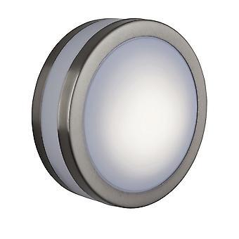 Firstlight - 1 Light Low Energy Bulkhead Stainless Steel IP44 - 6411ST