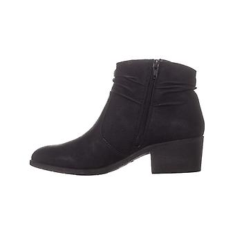White Mountain Womens Uptown Suede Almond Toe Ankle Fashion Boots