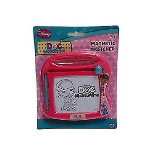 Doc Mcstuffins Magnetic Sketcher - Colours May Vary