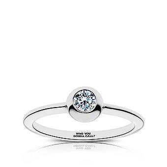 Ghostbusters hvem du skal ringe gravert White Sapphire ring