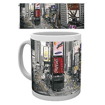 New York Times Square Boxed Drinking Mug