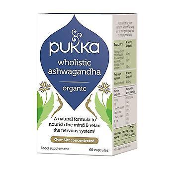 Pukka Wholistic Ashwagandha Capsules 60