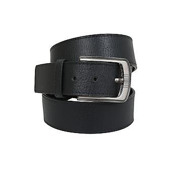 D555 King størrelse dækkende sort Bonded læderbælte