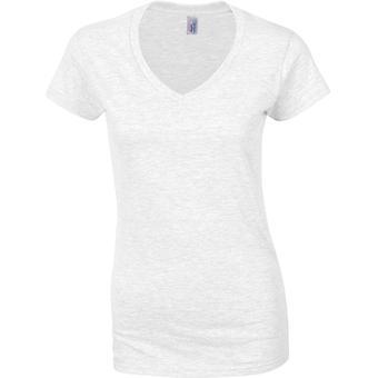 Gildan - Softstyle Damen Damen V-Ausschnitt T-Shirt