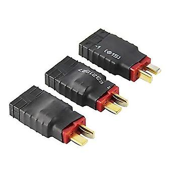 3 Pieces Male Deans to Female Wireless Adapter for TRX Traxxas connector for RC Charger (Pack of 3)