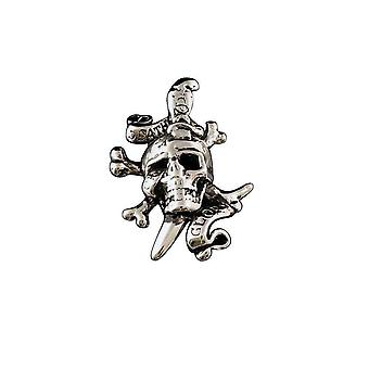 Pendant with chain Stainless Steel Ed Hardy death or Glory