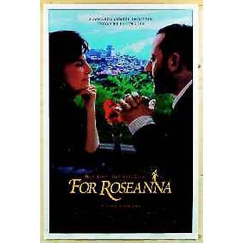 Für Roseanna (doppelseitig) Original Kino Poster