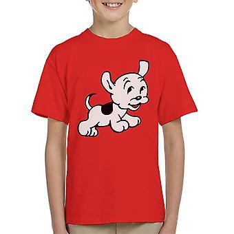 Betty Boop Pudgy springt Kid's T-Shirt
