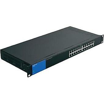 Network RJ45 switch Linksys LGS124P 24 ports 1 GBit/s PoE