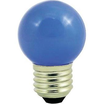 LED E27 Droplet 1 W Blue (Ø x L) 45 mm x 70 mm EEC: n/a LightMe 1 pc(s)