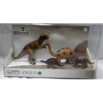 Wenno Box 4 Dinosaurs De Luxe (Toys , Dolls And Accesories , Miniature Toys , Animals)