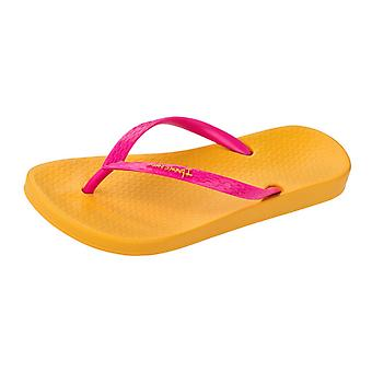 Ipanema Tropical Womens Flip Flops / Sandals - Yellow Pink