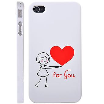 Cover For You Girl, in hard plastic, for iPhone 4/4s