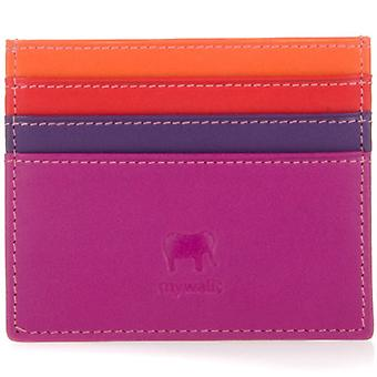 Mywalit Sangria Leather Credit Card Holder