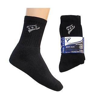 Black Sports Socks 3 Pack