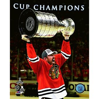 Brad Richards with the Stanley Cup Game 6 of the 2015 Stanley Cup Finals Sports Photo