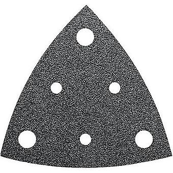 Delta grinder blade Hook-and-loop-backed, punched Grit size 40 Width across corners 80 mm Fein 63717236010 35 pc(s)