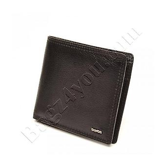 Berba SOFT MENS WALLET 002-022-00 Black