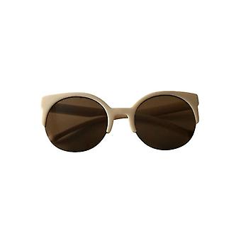 Retro sunglasses with floating glass shelves