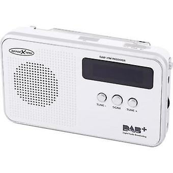 DAB+ Portable radio Reflexion TRA5000D DAB+, FM rechargeable White