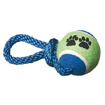 Camon Tennis Ball With Knot 64 Mm (Chiens , Jouets Et Sport , Balles)
