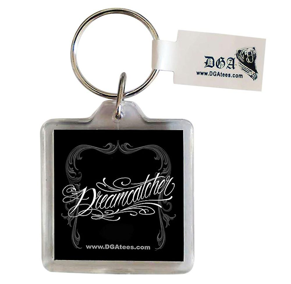 DGA Tees Dreamcatcher Keychain Keyring Accessory Native Girl Feather Tattoo