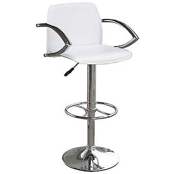 Nerckile White Bar Stool Swivel