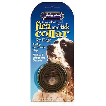 Jvp Dog Flea & Tick Collar Standard Size Brown 60cm (Pack of 6)