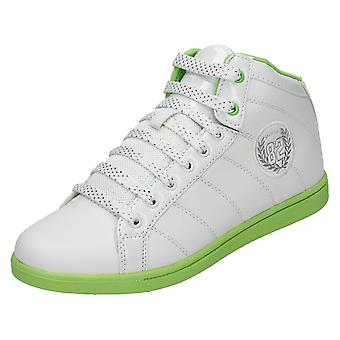 Ladies Mercury Lace Up High Top Trainers Sambucca