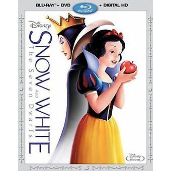 Snow White & the Seven Dwarfs [Blu-ray] USA import