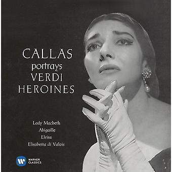 Verdi/Callas - Arias ik [CD] USA importeren