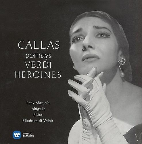 Verdi/Callas - Arias I [CD] USA import