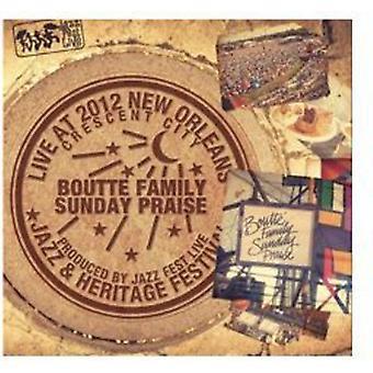 Boutte familie søndag Rose - Live på Jazzfest 2012 [CD] USA import