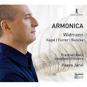 Widmann/Furrer/Ruzicka/Kagel - Armonica [CD] USA import