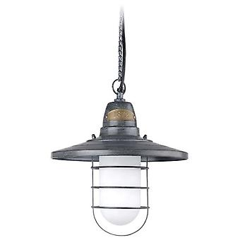Wellindal Pendant Cottage 1xE27 Max 20W Antique Grey