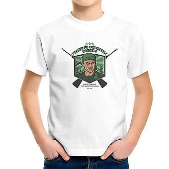 Sarges overlevelse Academy Platoon sergent Barnes børne T-Shirt